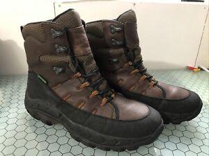 Cabelas 83-0234 DryPlus Waterproof Thinsulate Hiking Snow Hunting Boots Mens 13