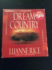 Dream Country Luanna Rice Audiobook 5 CDs 6 Hours Fiction