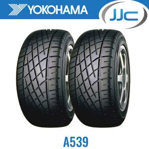 2 x 185/60/13 80H Yokohama A539 Performance Car Tyres (1856013)