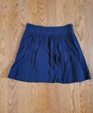 Ann Taylor Loft Blue Skirt Size 8