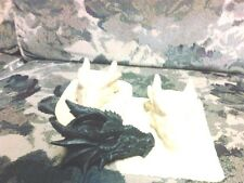 Dragon Head Tea Light Mold Latex for concrete or  Plaster