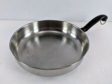 "Farberware 10"" Skillet, Aluminum Clad Stainless Steel Frying Pan Bronx #2"