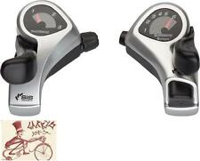 SHIMANO TOURNEY TX50 3 X 6-SPEED BICYCLE THUMB SHIFTER SET