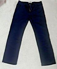 PER UNA STRETCH STRAIGHT LEG JEANS SIZE 14 SHORT BLUE