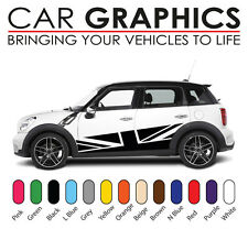 Mini Cooper Voiture Graphics decals stickers vinyl design mn14