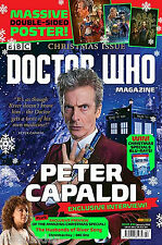 Doctor Who Magazine #494 - Peter Capaldi Christmas Previews Feast of Steven