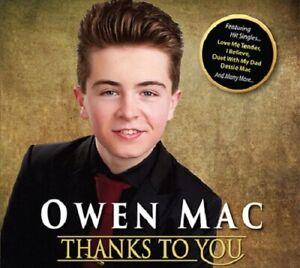 Owen Mac - Thanks To You CD 2019