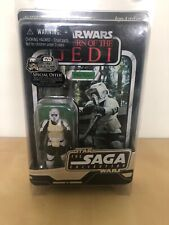 Star Wars Saga Collection Biker Scout UNPUNCHED And Cased