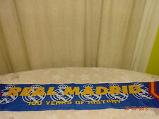 """Real Madrid Original Fan Schal """"REAL MADRID 100 YEARS OF HISTORY"""" TOP"""