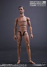 1/6 Scale DAM TOYS Action 2.0 Narrow Shoulders Body - No.MALE01