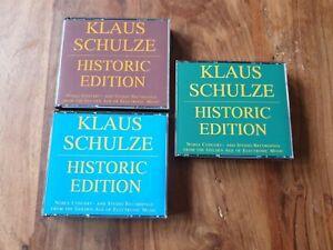 Klaus Schulze - Historic Edition 3 Boxen -10 CD's