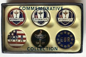 2021 Ryder Cup Ball Markers 6 pack whistling straits golf pga new 2020