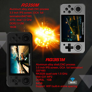 Anbernic RG351M RG350M Retro Game Console Handheld Video Game Player Tony System