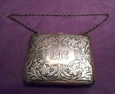 Victorian Sterling Silver Purse -  Blackinton