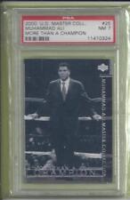 2000 Upper Deck Master Collection #25 Muhammad Ali The Legend # 005/250 PSA  NM7