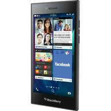 NEW BLACKBERRY LEAP 16GB UK SIM FREE UNLOCKED SMARTPHONE MOBILE - BLACK