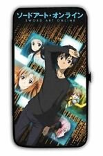 Sword Art Online Japanese Novel Kirito and Others Buckle-Down Hinge Wallet New