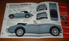 ★★1964 AUSTIN-HEALEY 3000 MKIII ORIGINAL IMP BROCHURE 64 MK III INFO SPECS MK3 3