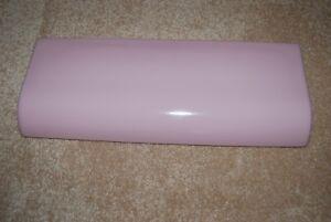 Crane Criterion Pink Toilet Tank Lid - EXCELLENT CONDITION & SANITIZED - RARE