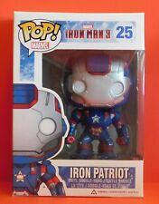 Funko Pop Marvel Ironman 3 - Iron Patriot 25