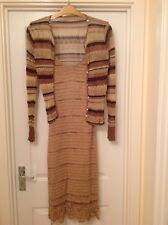 Ladies Sparkly Party Dress with Sparkly Cardigan to fit Size 14
