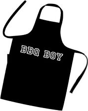 BBQ BOY / Chefs / Cooks / Apron / Xmas / Birthday / Summer / Meat / Food / Funny