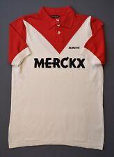 4.8/5 De Marchi Eddy Merckx 1975 Liege Men's Cotton Polo Cycling Size M