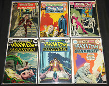 DC Bronze Age PHANTOM STRANGER 6pc Mid Grade Comic Lot (FN- to VF-) Neal Adams