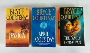 Bryce Courtenay Books x 3. Jessica, April Fool's Day & The Family Frying Pan