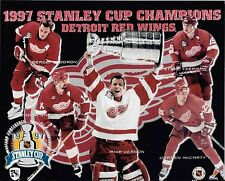 "2 Different 1997 Detroit Red Wings Stanley Cups Championship 8"" x 10""  Photos"