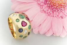 Schmuck Rubin Diamant Saphir Smaragd 750 Gold 18 Karat Ring