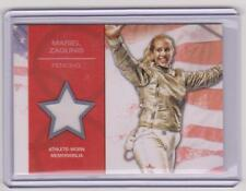 2012 TOPPS OLYMPIC MARIEL ZAGUNIS RELIC CARD ~ FENCING