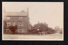 Overton on Dee - Bangor Road - real photographic postcard
