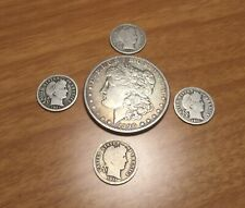 Old US Silver Coin Lot