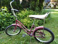 "Vintage 70's Sears Spyder Banana Seat 16"" Rim Bicycle"