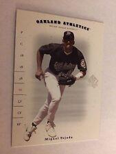 2001 SP Authentic #6 - Miguel Tejada - Oakland Athletics