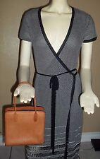 Vintage Coach Cashin Brown Leather Mini Handbag Tote #3309 (Rare)