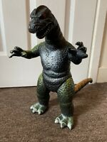 "large VINTAGE rare GODZILLA 15"" ACTION FIGURE DOR MEI 1986 dinosaur lizard 83R"