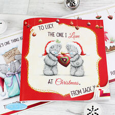 PERSONALISED Romantic Christmas Book Gift For Wife Girlfriend Husband Boyfriend