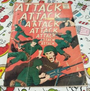 Rare Vintage Attack! Comic 1963 Summer Issue