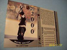 "1990-91 Pro-Set Wayne Gretzky # 703 ""The 2000th Point!"""