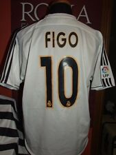 FIGO REAL MADRID 2003/2004 MAGLIA SHIRT CALCIO FOOTBALL MAILLOT JERSEY SOCCER