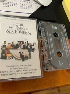 Four Weddings & A Funeral Cassette Tape