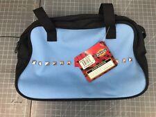 "Dickies Bag  Blowler 12""x3.5""x7.5"" Women Purse Bag Blue Punk Studs greaser"