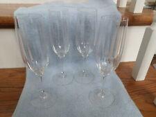 """Mikasa Tiffany # T7201..  8 1/2"""" Champagne Glasses Set Of 4"""