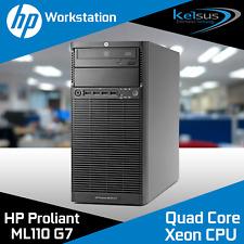 HP Proliant ML110 G7 Server Intel Xeon E3-1230 3.20GHz 16GB DDR3 Workstation PSU