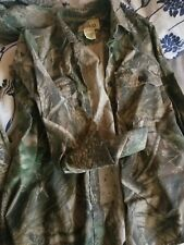Camo Hunting RedHead For Her M Long Sleeve Button Down Shirt