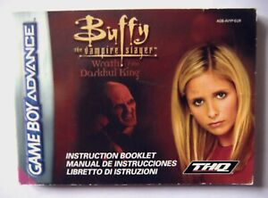 51801 Instruction Booklet - Buffy The Vampire Slayer Wrath Of The Darkhul King -