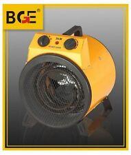 3KW Industrial Fan Heater Electric Workshop Garage Shed Cylinder Shape-Red New