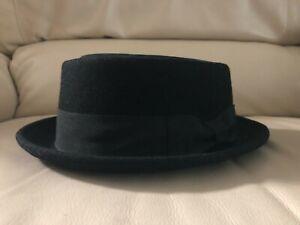 Epoch Pork Pie Hat - wool felt - short brim - Breaking Bad - Heisenberg - L / XL